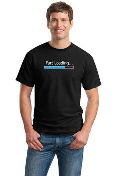 FART LOADING???? Adult Unisex T-shirt / Awesome Fart Joke Humor tee for Farters