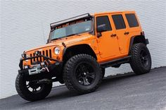 New 2012 Jeep Wrangler Unlimited Rubicon - This orange is growing on me