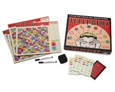 TELEPATHY GAME | Family Board Game, Telepathy Puzzle Game | UncommonGoods
