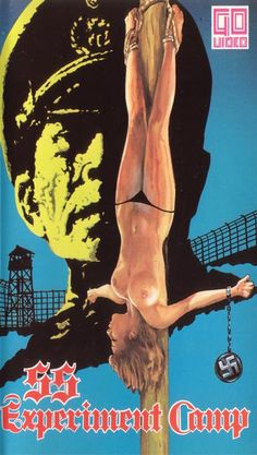 SS Experiment Love Camp (1976) Video Nasty 64***