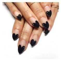20+ idées originales pour porter le vernis à ongles noir   Shōko