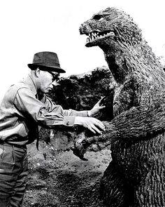 Godzilla, 1954 Behind The Scenes. #Godzilla