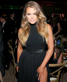 Khloe Kardashian Accentuates Her Waist in Black Gown for Golden Globes - Us Weekly