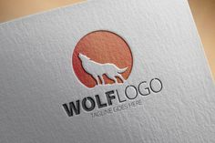 Check out Wolf Logo by samedia on Creative Market