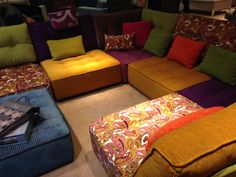 Fabulously strikingly bright to keep our showroom cheerful!