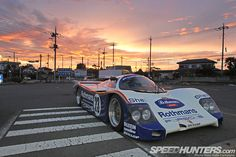 Porsche 962c Prowls The Streets