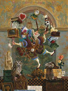 """james christensen art """"Balancing act"""""""