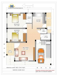 marvelous home plan design 1200 sq feet ft house plans in tamil nadu