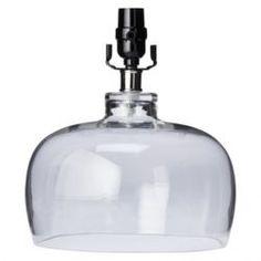 Clear lamp base