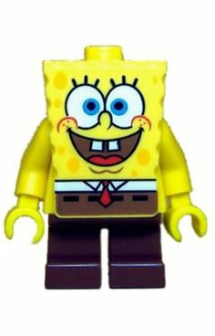 SpongeBob Squarepants - LEGO SpongeBob Figure by LEGO. $6.99. Brand new in the package.