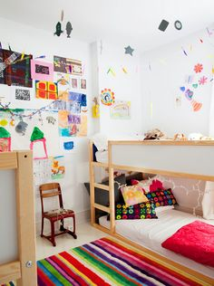 loving this room!  and it's a boy and girl's shared room -- so hard to find