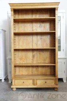 Antikes Bauernregal Bücherregale (2) Sideboard, Bookcase, Shelves, Home Decor, Restoration, Old Wood, Drawers, Shelving, Decoration Home