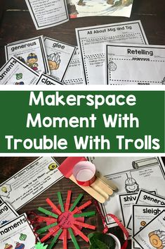 Bundled Christmas Trolls includes a Close Reading response to this adorable book by Jan Brett as well as a fun Makerspace/STEM response to the story. Your students will take a closer look at character, vocabulary, illustrations, point of view, and retelling.