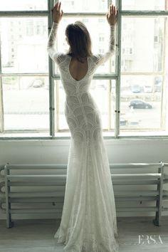 wedding dress Celie