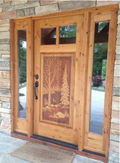 35)Brancato door & sidelites