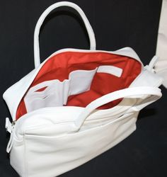 Customized lady business bag (pure white) - by BAG4U