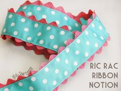 rick rack Ribbon Great idea!