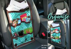 Car Caddy: Front or Back Seat Auto Organization