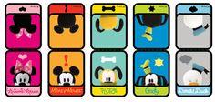 Free DIY Disney Pook-a-Looz Printable Bookmarks!