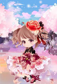 @trade | オリエンタルポンドガーデンの背景 満開の桜
