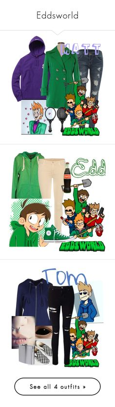 """""""Eddsworld"""" by queenofvinyl ❤ liked on Polyvore featuring WithChic, 3M, Portrait, 40WEFT, 7 For All Mankind, Converse, NORTH SAILS, Vans, Miss Selfridge and The Sharper Image"""