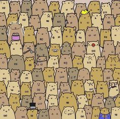 Can you find the potato in this sea of hamsters? Try the latest head-scratching brainteaser cartoon — Medium