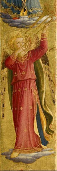 Fra Angelico, Linaioli Tabernacle, 1433, (details), Florence, Museo di San Marco