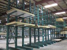 Web Style Cantilever Rack Row