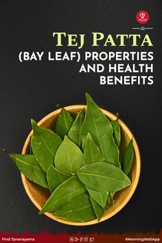 Ayurvedic Home Remedies, Ayurvedic Herbs, Natural Home Remedies, Health Remedies, Ayurveda, Bay Leaves Uses, Indian Kitchen, Yoga Poses, Health Benefits