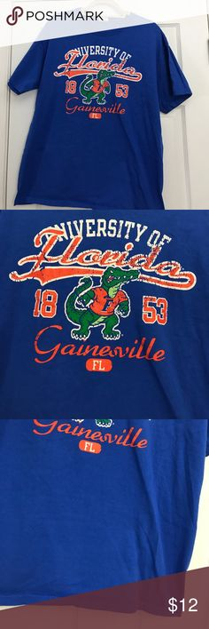 University of  Florida Tee  size  Large Great condition, gently used no signs of wear. Size Medium Unisex Shirts Tees - Short Sleeve