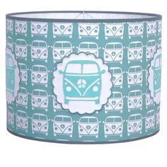 Hanglamp Taftan Busje grijs blauw