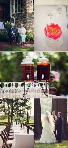 vintage diy backyard wedding ideas 2014 trends #elegantweddinginvites #weddingideas