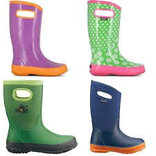 Bogs- Great boots for kids! Rain boots or snowboots!