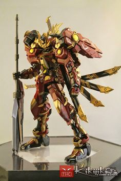 GUNDAM GUY: 1/100 Sengoku Astray Nobunaga V2 - Custom Build