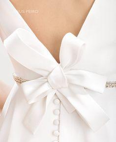 Vestido novia Jesús Peiró Ref.7001 JESUS PEIRO Wedding Dress. Mirtilli Collection 2017
