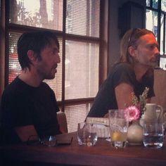 Colin Greenwood & Thom Yorke - #Radiohead