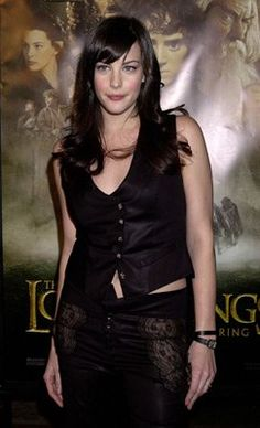 Liv Tyler at Los Angeles event of The Lord of the Rings: The Fellowship of the Ring