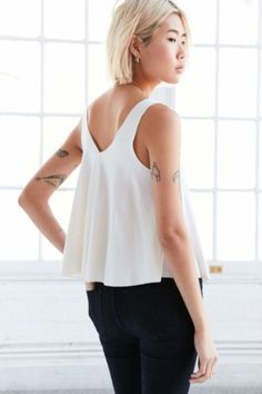 Kimchi Blue Mona Modal Tank Top - Urban Outfitters
