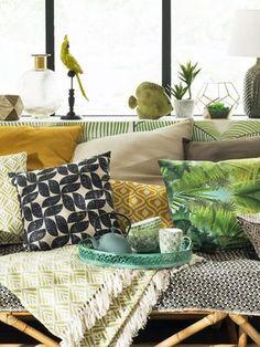 Foncez Dans Le Décor Serre Tropicale Deco Tropical Pinterest - Cuisine style colonial pour idees de deco de cuisine