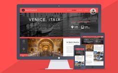 Wayfarer - Travel Website and App Design Concept by Kristian Hay