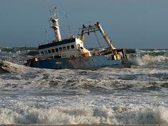 Zeila shipwreck, Skeleton Coast, Namibia
