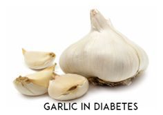 garlic in diabetes