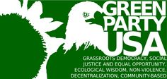 """WE HAVE A CHOICE: We can watch the US slide deeper into more war, more corporate power, more erosion of constitutional rights, and more disregard for the health of our planet.... or we can build a permanent alternative to the two parties of war & Wall Street. The Green Party is that alternative: the party of """"We the People,"""" social & environmental justice, protections for working people & the poor, human rights & civil liberties. ! Green Party Usa, Green Politics, Political Problems, Environmental Justice, Constitutional Rights, Equal Opportunity, Green Logo, Working People, Political Views"""
