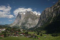 "Grindelwald in Switserland  www.AllThingsReal-Estatae.com  ""For a better life"""