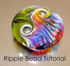 one day I'll break into the glass medium! http://www.etsy.com/listing/92111823/ripple-bead-tutorial-lampwork-bead