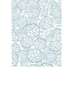 Overview This removable wallpaper tile is designed by Joy D. Cho in Los Angeles and printed in Chicago on a matte, polyester wall fabric. Our tiles have a cl...