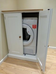 Bespoke Tumble Dryer Cupboard - Bespoke Kitchen and Dining Room Furniture - Pine Shop Bury