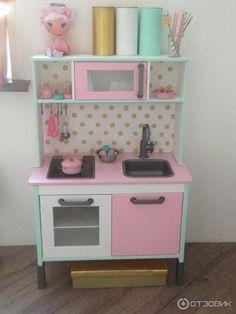 Детская кухня IKEA +МНОГО ФОТО (ПЕРЕДЕЛКА СВОИМИ РУКАМИ)