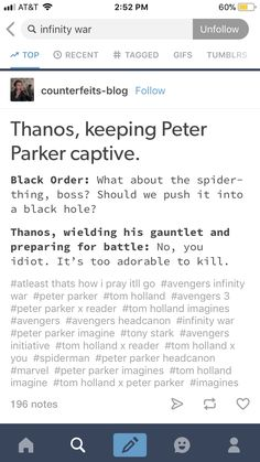 Then again, once Thanos takes the Mind Stone he could technically brainwash Peter into attacking . . . I'll stop here -_-