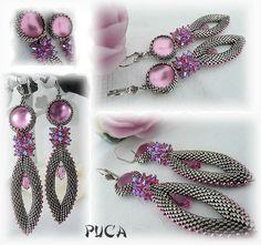 """Parure """" Rani""""... princesse indienne. - Les perles de PUCA"""